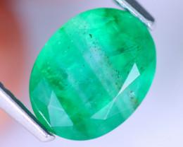 2.08cts Natural Zambian Green Emerald / MA946
