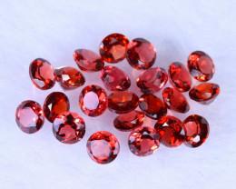 7.31cts Natural Spessartite Orange Red Garnet Lots / MA980