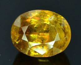 Rare AAA Fire 1.80 ct Malayaite Sphene Badakhshan Afghanistan