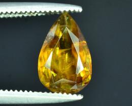 Rare AAA Fire 1.40 ct Malayaite Sphene Badakhshan Afghanistan