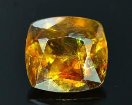 Rare AAA Fire 1.55 ct Malayaite Sphene Badakhshan Afghanistan