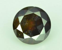 Orange Diamond 0.55 ct Top Grade Brilliance~S