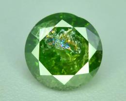 Green Diamond 0.50 ct Top Grade Brilliance~S