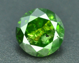Green Diamond 0.50 ct Top Grade Brilliance~S