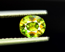 1.25 CT AAA Quality Full Fire Color Change Natural Sphene Titanite Gemston