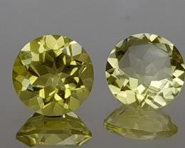 3.48Crt Lemon Quartz Natural Gemstones JI106