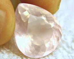 23.24 Carat VVS African Rose Quartz - Gorgeous