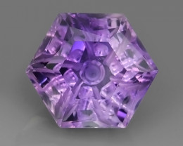 25.00 CTS INCREDIBLE VIOLET AMETHYST FANCY ROUND CUT BRAZIL ECELLENT!!