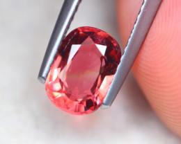 1.30ct Natural Pink Tourmaline Oval Cut Lot V8376
