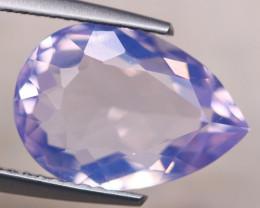 4.38ct Natural Lavender Amethyst Pear Cut Lot V8387