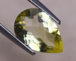 2.57ct Natural Lemon Quartz Pear Cut Lot V8422