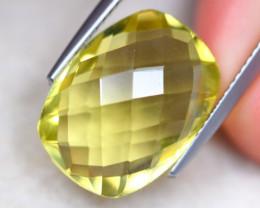9.38ct Natural Lemon Quartz Octagon Cut Lot V8730