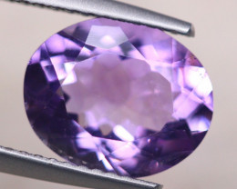 2.98ct Natural Purple Amethyst Oval Cut Lot V8428