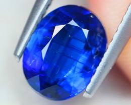 1.52ct Natural Blue Kyanite Oval Cut Lot V8729