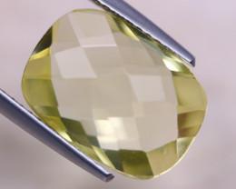 6.19ct Natural Lemon Quartz Octagon Cut Lot V8720