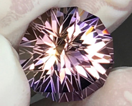 12.75 CT COLLECTOR PIECES PRECISION CUT NATURAL AMETRINE