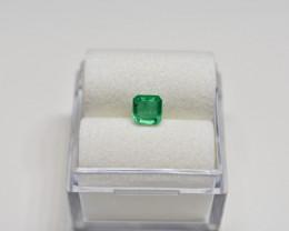 0.43 Carats Vivid Green AFGHAN (Panjshir) Emerald!