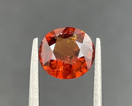 1.55 CT Spessartite Garnet Gemstone