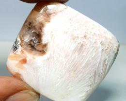 38.46 ct Natural Sceolite Cushion Cabochon  Gemstone