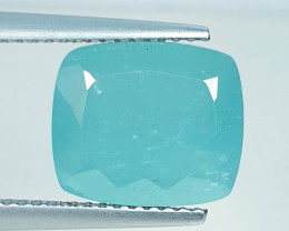 5.43 ct Top Quality Gem Fantastic Cushion Cut Natural Grandidierite