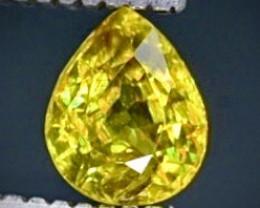 0.51 Crt  Sphene Faceted Gemstone (Rk-34)