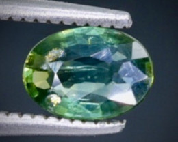 0.66 Crt  Sapphire Faceted Gemstone (Rk-34)