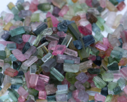 Mixed Rough Tourmaline Parcel-78Grams-390carats