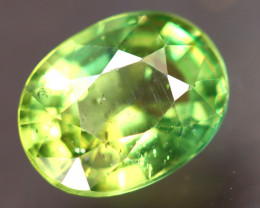 Apatite 2.20Ct Natural Paraiba Green Color Apatite D2601/B44
