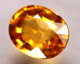 Tourmaline 1.75Ct Natural Golden Yellow Tourmaline D2602/B19