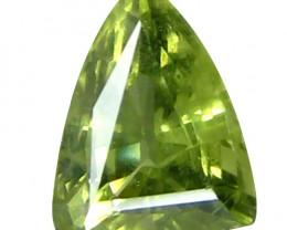 Sapphire 1.1 Cts Green Step cut BGC949