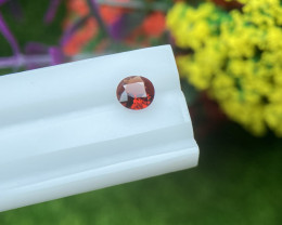 Spinel 0.43 Cts Red Step cut BGC1380
