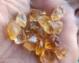 100 Ct Natural Citrine Gemstone Rough Parcel VA2314