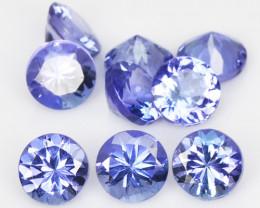 *No Reserve* Tanzanite 3.93 Cts 9pcs Violet Blue Color Natural Gemstone