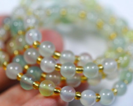 Natural Chalcedony Necklace