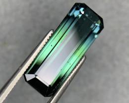 5.97 Carats Natural Bicolor Tourmaline Gemstone