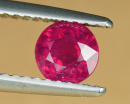 .76CT HOT SCARLET RED COMPOSITE RUBY (FF) $1NR!