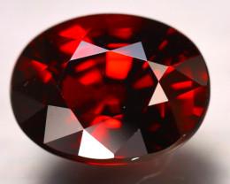 Almandine 7.73Ct Natural Vivid Blood Red Almandine Garnet DR563/B12