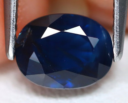 Blue Sapphire 1.57Ct VS Oval Cut Natural Australian Blue Sapphire A2303