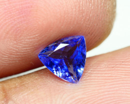 0.665CRT WONDER BEST FULL TANZANITE TOP QUANLITY GEMSTONE -