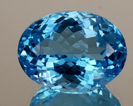 10.55Crt Blue Topaz Natural Gemstones JI107