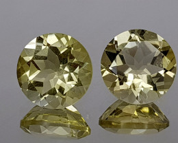 4.85Crt Lemon Quartz Natural Gemstones JI107