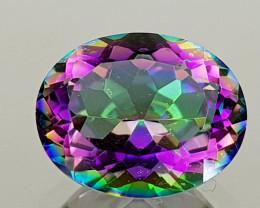 2.41Crt Mystic Quartz Natural Gemstones JI107