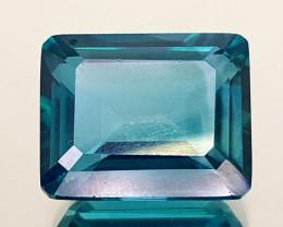 5.25Crt Green Topaz Coated Natural Gemstones JI107