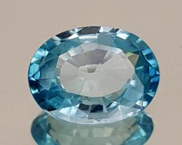 2.81Crt Blue Zircon Natural Gemstones JI107