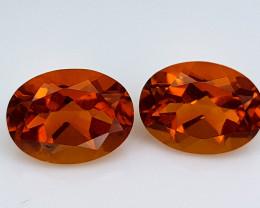 2.35Crt Madeira Citrine Natural Gemstones JI107