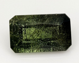 2.95Crt Rutile Peridot Natural Gemstones JI107