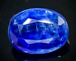 1.80 Crt Natural  Kyanite Faceted Gemstone.( AB 60)