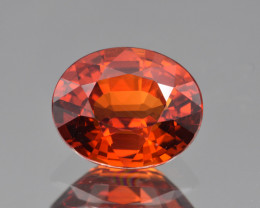 Natural Spessartite Garnet 3.48 Cts Top Color