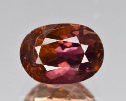 Natural Red Tourmaline 3.40 Cts Unique Gemstone