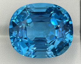 71.74 CT Topaz Gemstones Top colour Top lustre with fine cutting